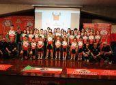 El Club Ciclista Meruelo presentó sus equipos para esta temporada en el Centro Cívico