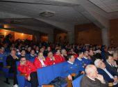 El Centro Cívico de Meruelo acogió la presentación de la Gala Apebol
