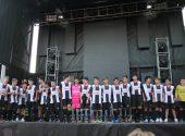 Presentacion de los equipos de futbol de Meruelo