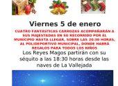 Sus Majestades los Reyes Magos visitarán Meruelo el día 5 con un montón de regalos para todos los niños y niñas