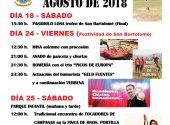 Fiestas de San Bartolomé de Meruelo (VIERNA) 2018