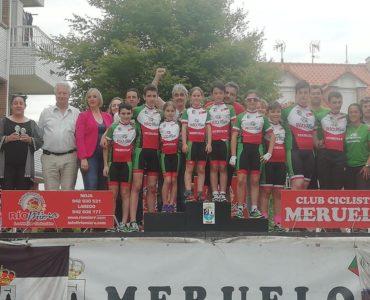 Celebrada la Reunión de Escuelas de Ciclismo en Meruelo