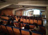 Charla sobre el Medio Ambiente en el Centro Cívico a los alumnos del IES San Miguel de Meruelo