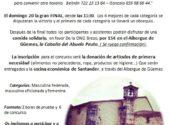 Concurso solidario de Pasabolo Losa organizado por la Peña San Bartolomé Los Arcos con la Peña Cubas Jardinería