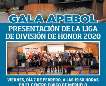 El Centro Cívico acogerá el 7 de febrero la Gala Apebol