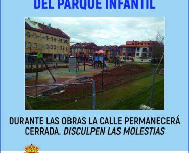 Las obras de la cubierta del parque infantil ya están en marcha