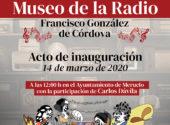 El 14 de marzo se inaugura el Museo de la Radio
