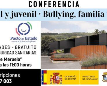 Conferencia sobre el acoso escolar el sábado día 27 a las 11 horas en el Centro Cívico