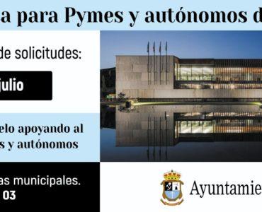 El jueves día 15 finaliza el plazo para solicitar las ayudas para PYMES y autónomos