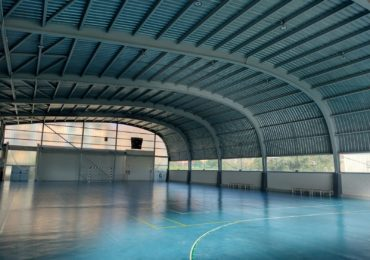 Cambio del alumbrado del Pabellón Polideportivo Municipal